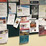 Display Areas & Bulletin Board