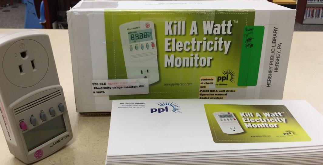 Kill A Watt Electricity Monitor – Hershey Public Library
