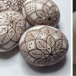Etched Brown Egg Class